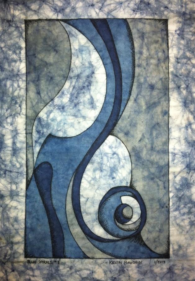 Blue Spirals 1