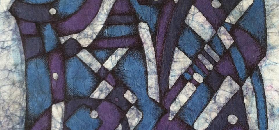 Blue Batik