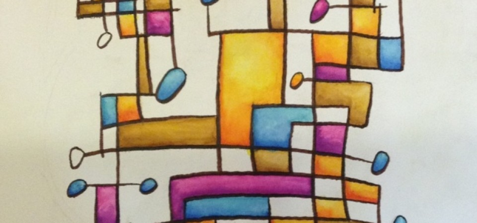 The Ramblings – 13x20in watercolor – Kevin Houchin