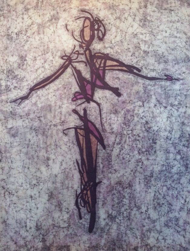Angell – Kevin Houchin Fine Art Batik