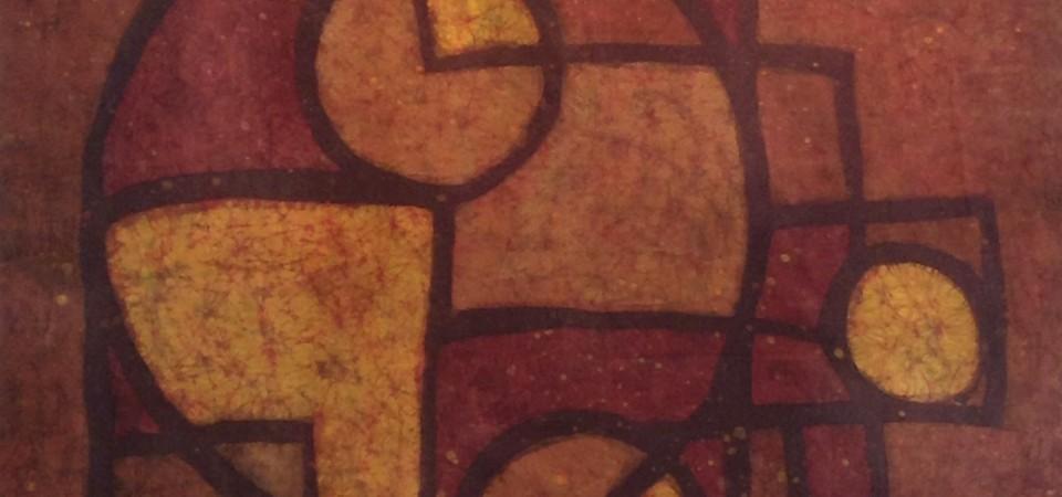 Golden Geometry – Kevin Houchin Fine Art Batik