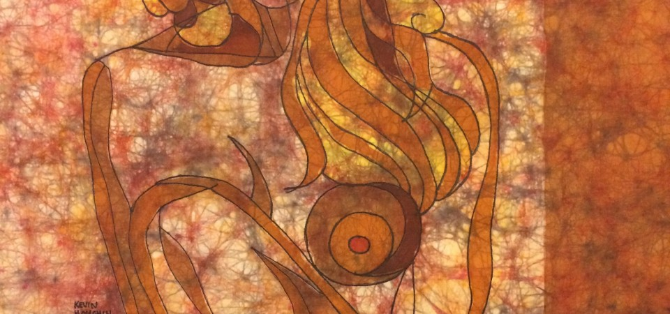 Window – Batik by Kevin Houchin
