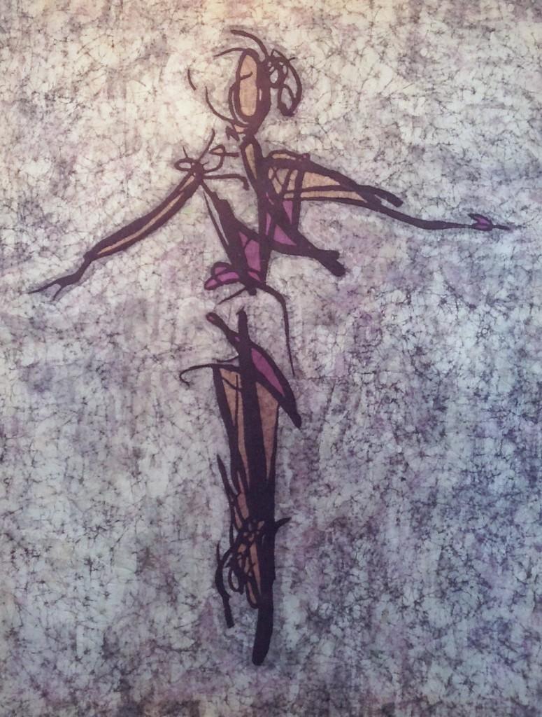Angell - Kevin Houchin Fine Art Batik