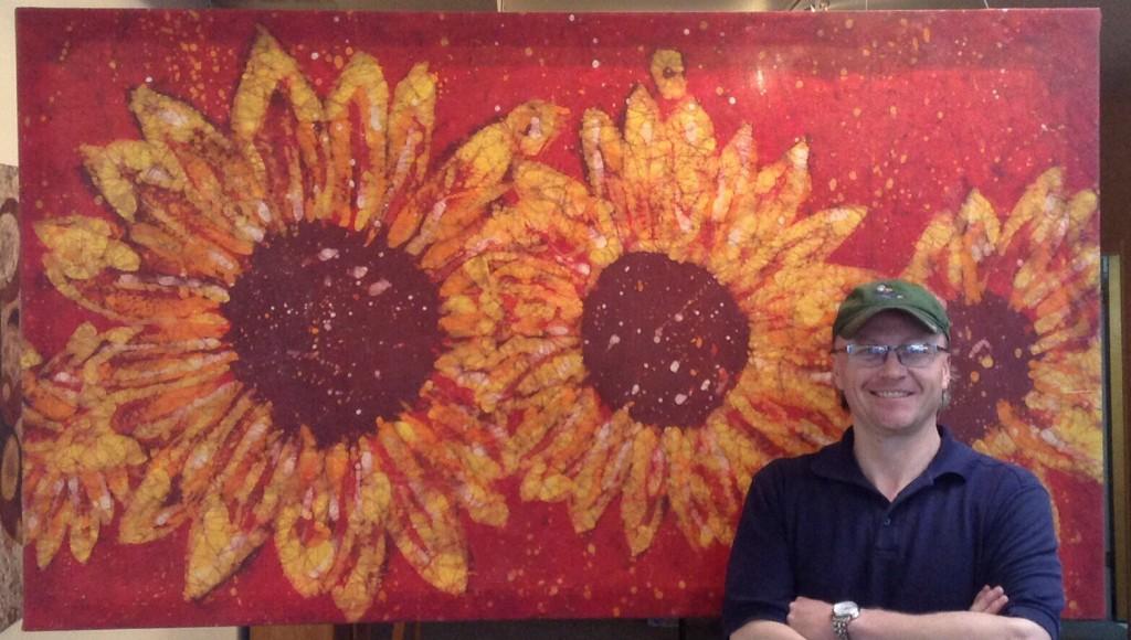 Kevin crimson Sunflowers