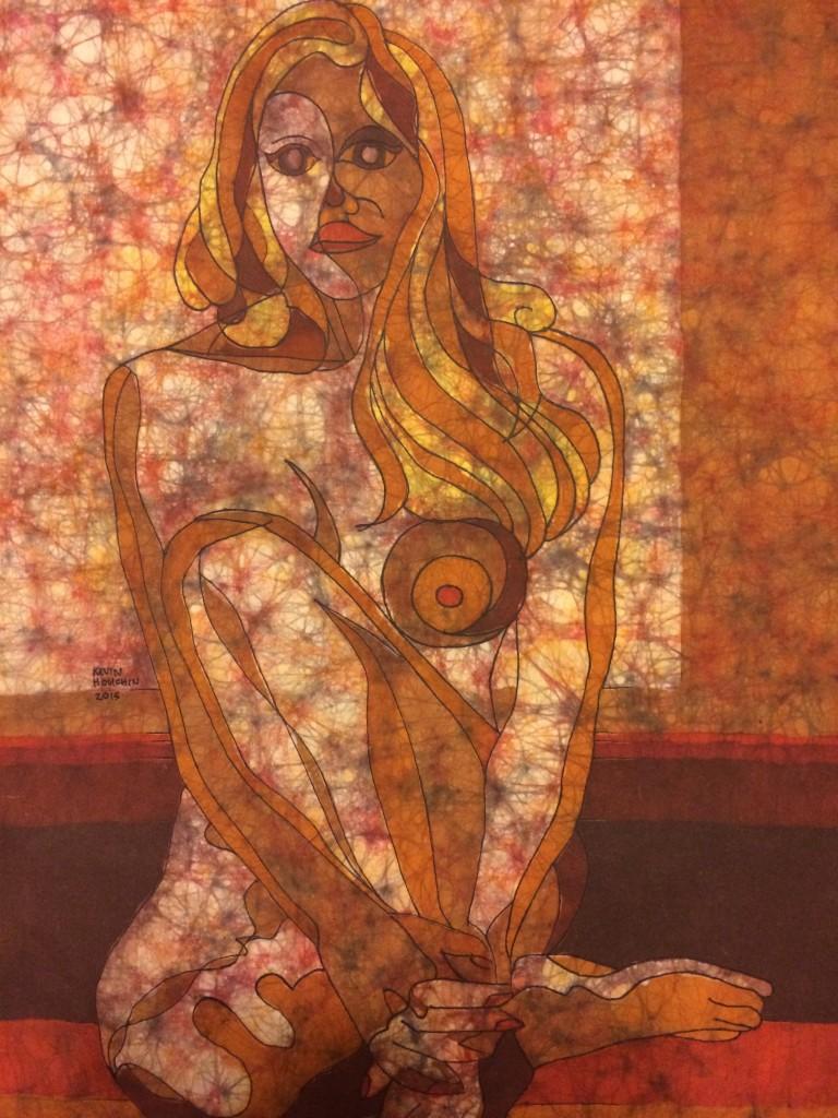 Window - Batik by Kevin Houchin