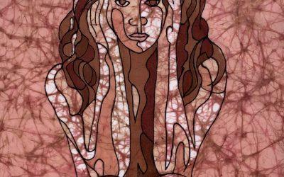 Compact – 11×22 inch Fine Art Batik