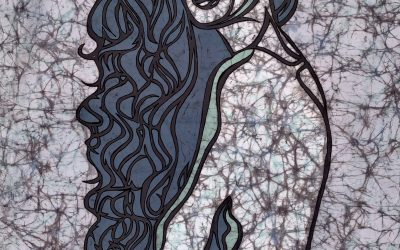 Mermaid Hair 1 – 20×30 inch – Fine Art Batik