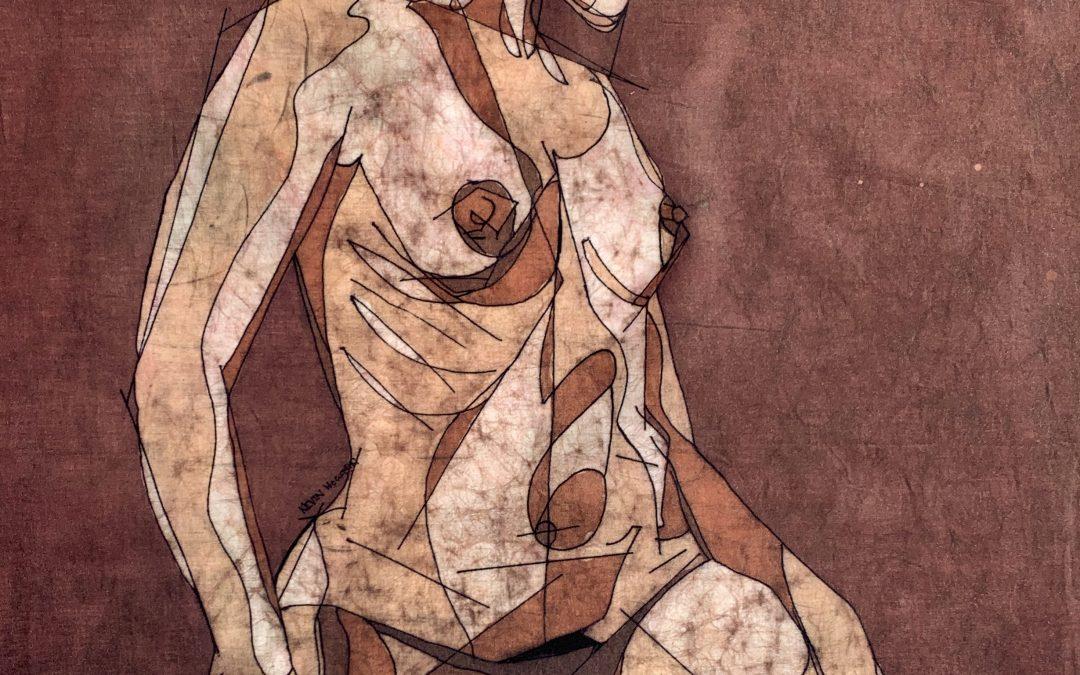 Twist – 22×28 inch Fine Art Batik
