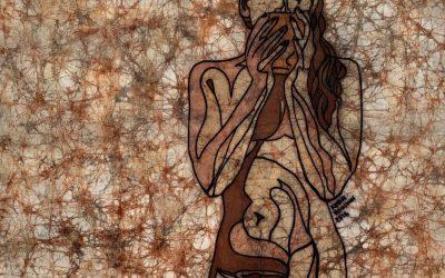 Coffee 1 – 20×20 inch Fine Art Batik