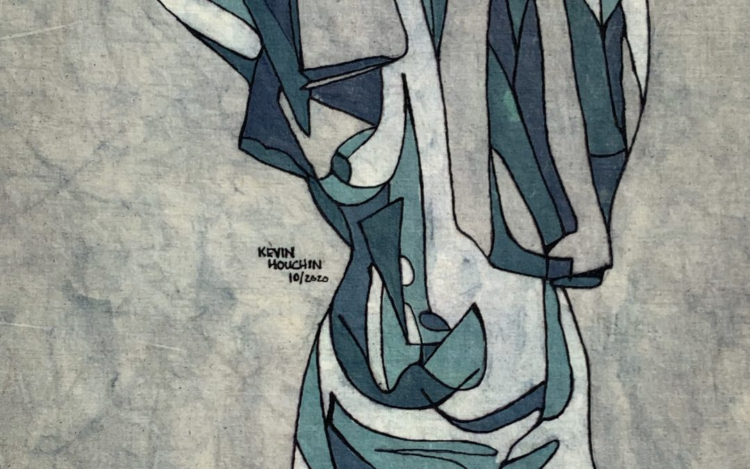 Cool Morning – 12×18 inch Fine Art Batik